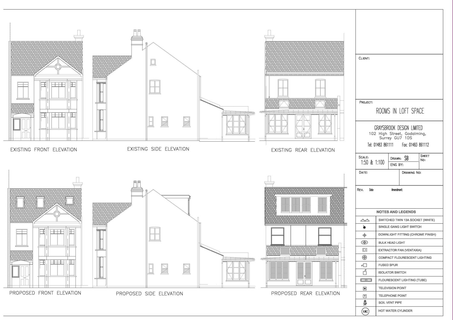 Plan Elevation And Section Drawings : Architectural plan section elevation joy studio design